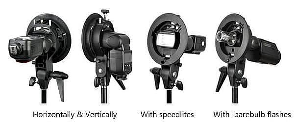 Godox S Bracket - Flash/Speedlite Bracket